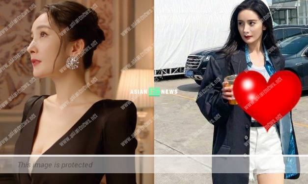 35-year-old Yang Mi's chest is sagging because of her spine injury?