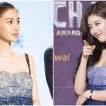 Who is more beautiful? Bae Suzy and Angelababy wear the same dress