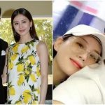 Nicky Wu and Cecilia Liu behave sweetly during their vacation
