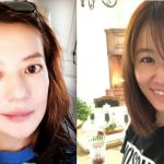 Vicki Zhao shows her natural beauty after Ruby Lin