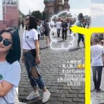 Nicholas Tse invades when Charlene Choi is taking photo in Russia