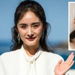 32 years old Yang Mi looks haggard at the film festival