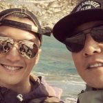 Nicholas Tse and Daniel Wu look young when compared to their old photo