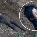 No leniency: Toby Leung shoots bury alive scene directed by her father