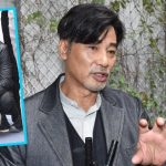 Simon Yam took 6 hours to shoot a crossing road scene with the guide dog