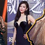 Weibo Awards Ceremony: Yang Mi is in a happy mood when getting an award
