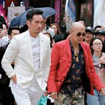 Professional Moses Chan completed the scene of hitting James Ng within two takes