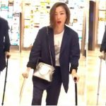 Sammi Cheng's tendon is infected; She is forced to stop running