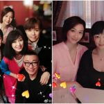 Michelle Yim continues to look young and has dinner with her family