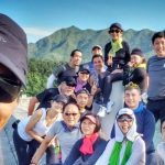 """Elena Kong goes for hiking and calls Chow Yun Fat as """"master"""""""