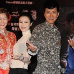 Edwin Siu promoted TVB new drama in TV City because of lighting effects