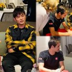 Jay Chou had good interactions with Swiss professional tennis player