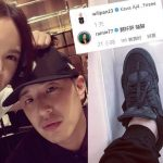 Rainie Yang criticised Wilber Pan when showing his new trainers