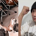 Show Lo shows photo and pointed he is doing self-reflection