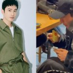 Huang Xiaoming has palpitation problem? He eats alone at a restaurant