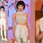 Ali Lee feels embarrassed when Mayanne Mak touches her chest